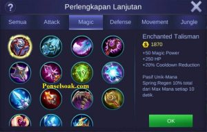 Build Gear Aurora Mobile Legends 2