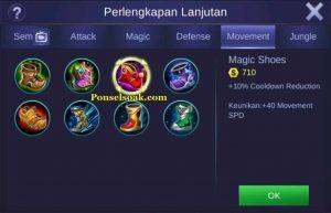 Build Gear Franco Mobile Legend 2