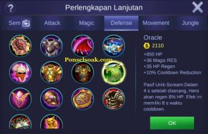 Build Gear Franco Mobile Legend