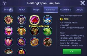 Build Gear Franco Mobile Legend 5