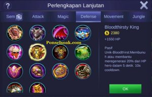Build Gear Freya Mobile Legend 3