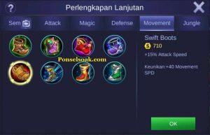Build Gear Freya Mobile Legend