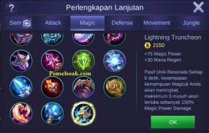 Build Gear Kagura Mobile Legends 3