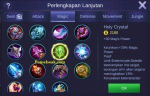 Build Gear Kagura Mobile Legends 5