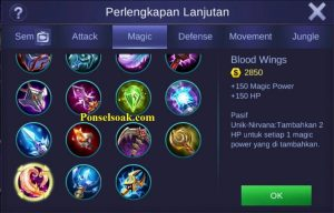 Mau tau build item gear Hero Karina Mobile Legends Tersakit Build Karina Mobile Legends Tersakit