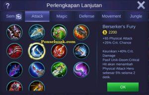 Build Gear Karrie Mobile Legends 4