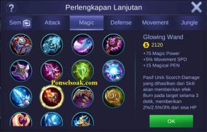 Build Gear Odette Mobile Legends 3