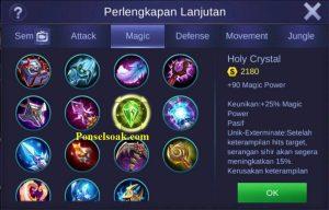 Build Gear Odette Mobile Legends 5