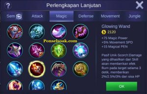 Build Gear Pharsa Mobile Legends 3