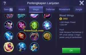 Build Gear Pharsa Mobile Legends 6