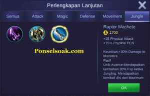 Build Gear Untuk Jungle