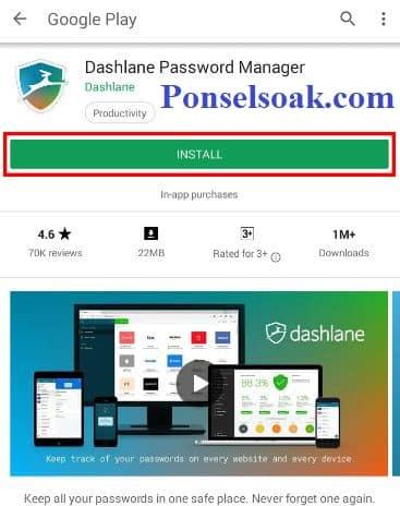 Cara Langsung Masuk Facebook Profil Menggunakan Dashlane 1