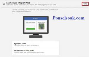 Cara Langsung Masuk Facebook Profil Menggunakan Foto Profil 6
