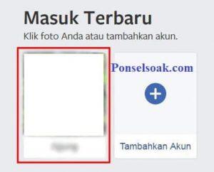 Cara Langsung Masuk Facebook Profil Menggunakan Foto Profil 9