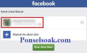 Cara Masuk Dan Keluar Facebook Menggunakan Foto Profil 2