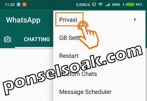 Cara Membuat Pesan WhatsApp Ceklis 1 Padahal Sudah Dibaca 18