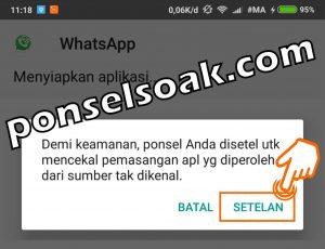 Cara Membuat Pesan WhatsApp Ceklis 1 Padahal Sudah Dibaca 2
