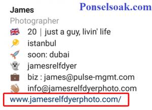 Cara Membuat Profil Dan Bio Instagram Yang Menarik 5
