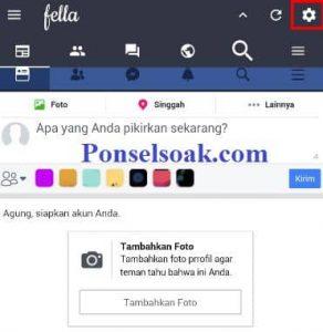 Cara Membuat Tema Facebook Lite Warna Warni 6