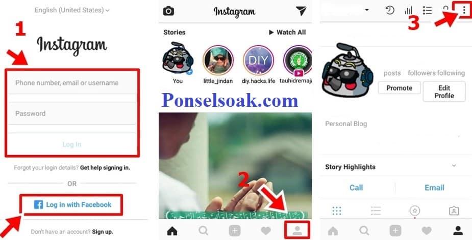 Cara Membuka Blokir IG & Memblokir Akun Di Instagram