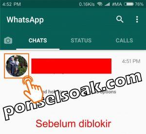 Cara Membuka Whatsapp yang Diblokir Teman 1