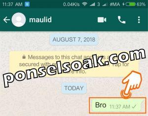 Cara Membuka Whatsapp yang Diblokir Teman 14