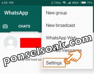 Cara Membuka Whatsapp yang Diblokir Teman 4