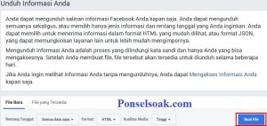 Cara Mengembalikan Pesan Facebook Yang Terhapus 7