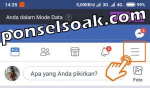 Cara Mengetahui FB di Sadap 1