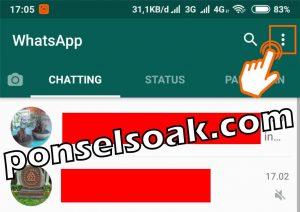 Cara Mengetahui Teman Whatsapp Online Dengan Orang Lain 3