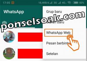 Cara Mengetahui Teman Whatsapp Online Dengan Orang Lain 4