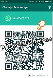 Cara Mengetahui Teman Whatsapp Online Dengan Orang Lain 6