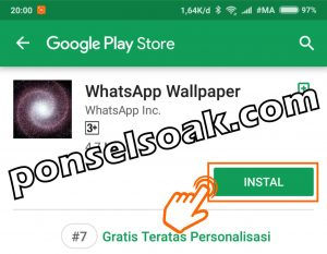 Cara Mengganti Wallpaper Background Whatsapp