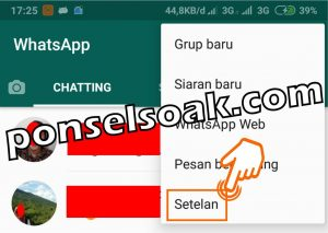 Cara Menyembunyikan Foto Profil Whatsapp 2