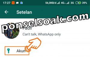 Cara Menyembunyikan Foto Profil Whatsapp 3