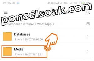 Cara Menyimpan Foto Whatsapp Otomatis 13
