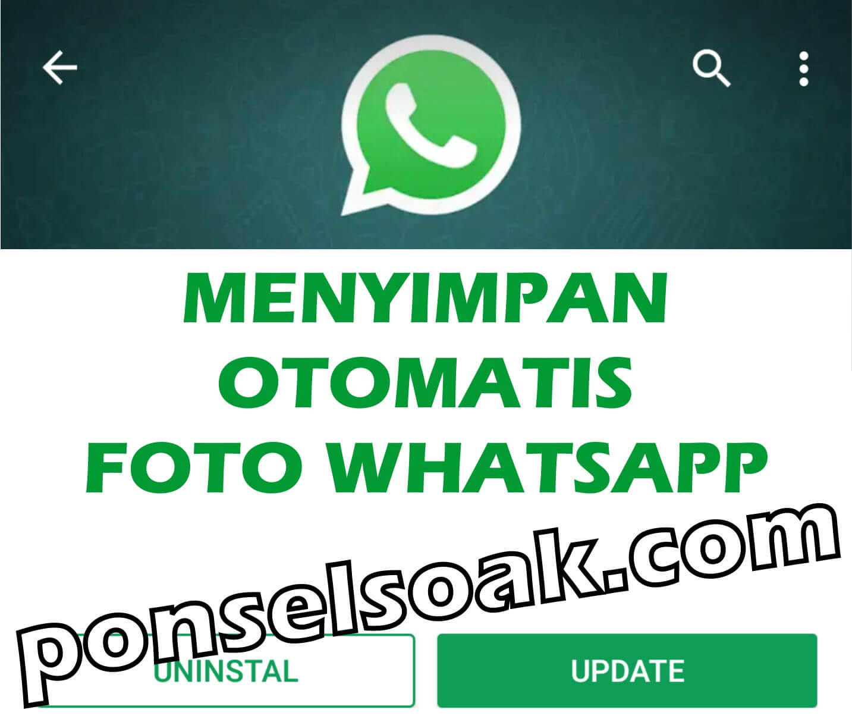 Cara Menyimpan Foto Whatsapp Otomatis