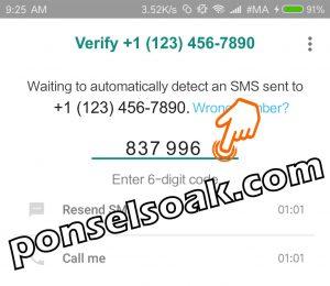 Cara daftar whatsapp dengan email dan nomor hp 13