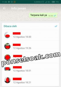 Cara menyembunyikan or menghilangkan status online di whatsapp ketika online 10