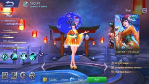 Hero Kagura Mobile Legend