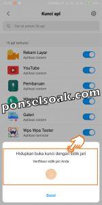 Kunci Aplikasi Whatsapp 6