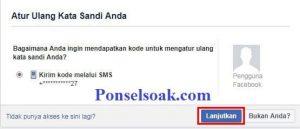 Mengatasi Lupa Kata Sandi FB Menggunakan FB Teman 10