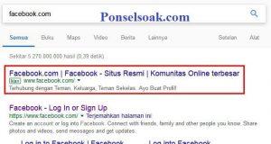 Mengatasi Lupa Kata Sandi FB Menggunakan FB Teman 2