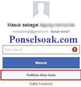Mengembalikan Akun Facebook Yang Diblokir Melalui Web 3
