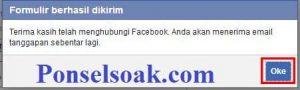 Mengembalikan Akun Facebook Yang Diblokir Melalui Web 9