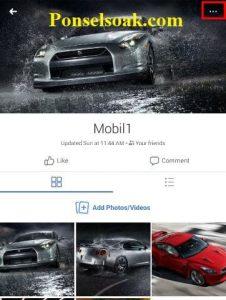 Menghapus Album Foto Facebook Melalui Android 7