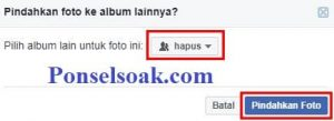 Menghapus Album Foto Facebook Melalui Web 9