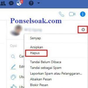 Menghapus Pesan Facebook Messenger Melalui Web 4