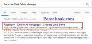 Menghapus Pesan Facebook Messenger Menggunakan Chrome 1