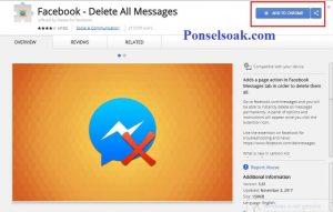 Menghapus Pesan Facebook Messenger Menggunakan Chrome 2